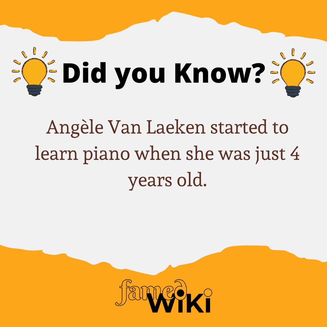 Angèle Van Laeken Facts