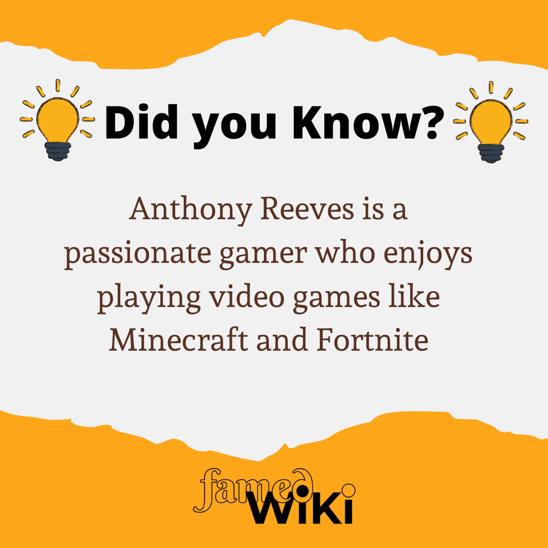 Anthony Reeves Facts