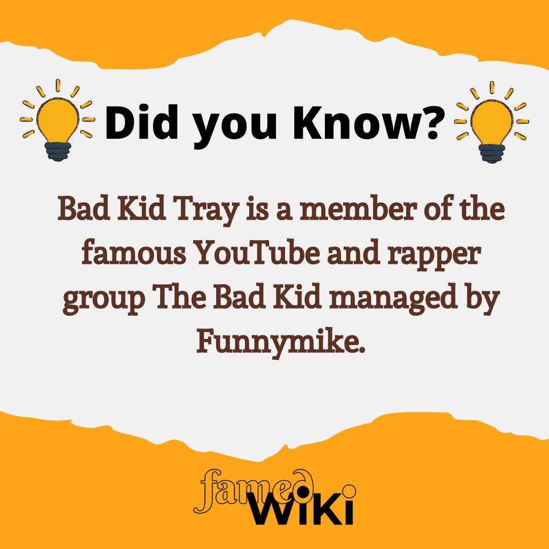 Bad Kid Tray Facts