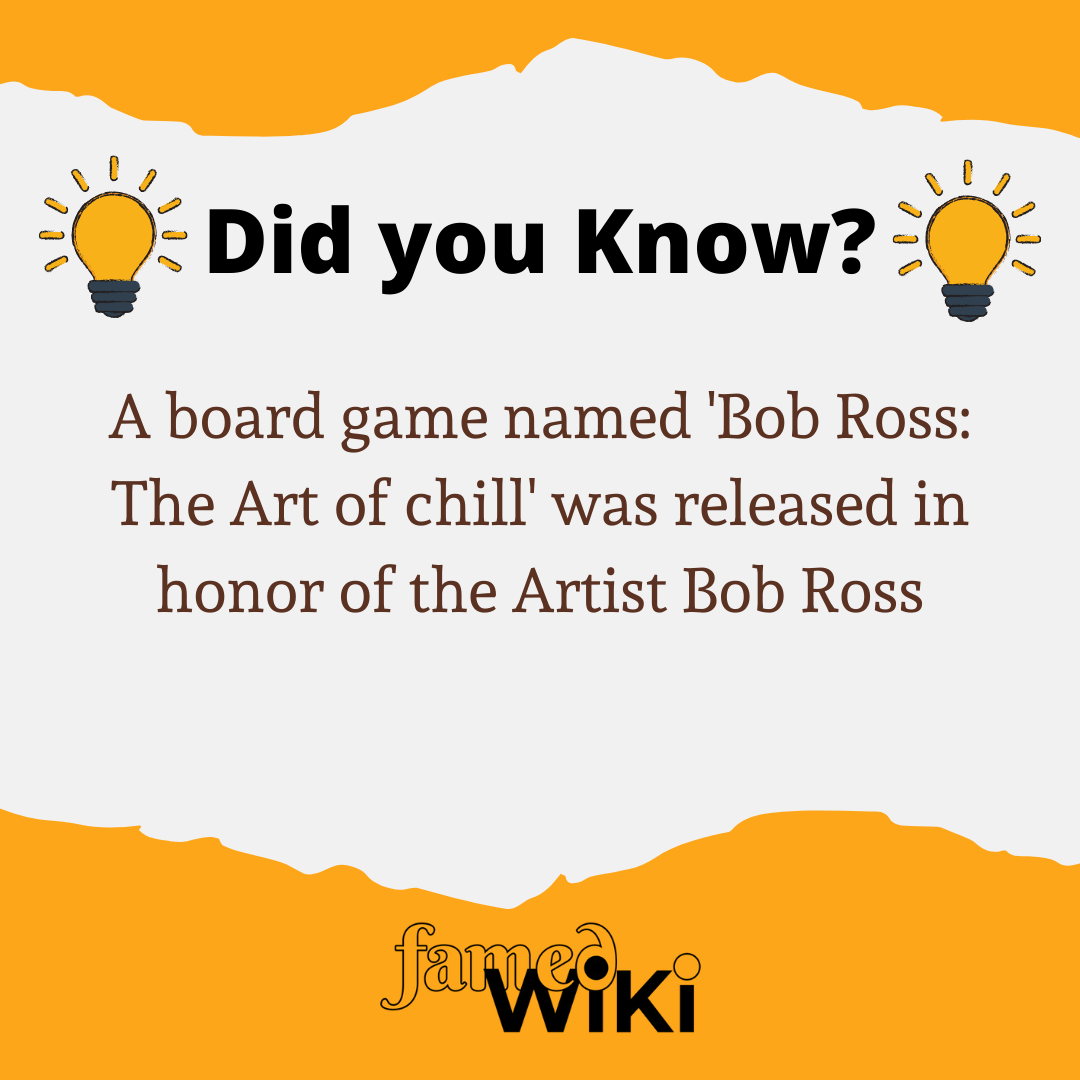 Bob Ross Facts
