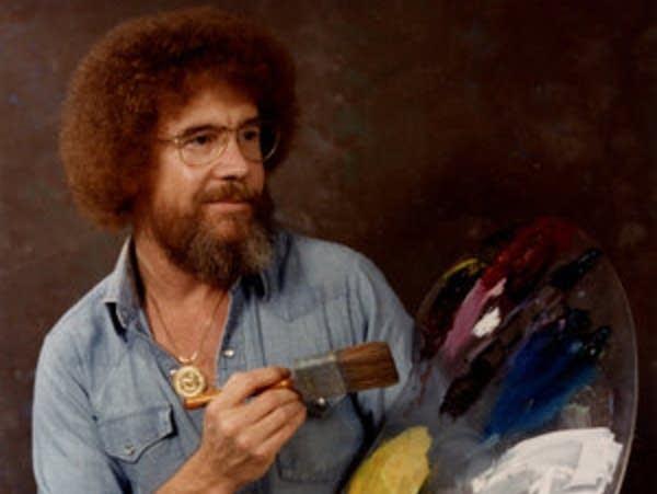 Bob Ross's painting