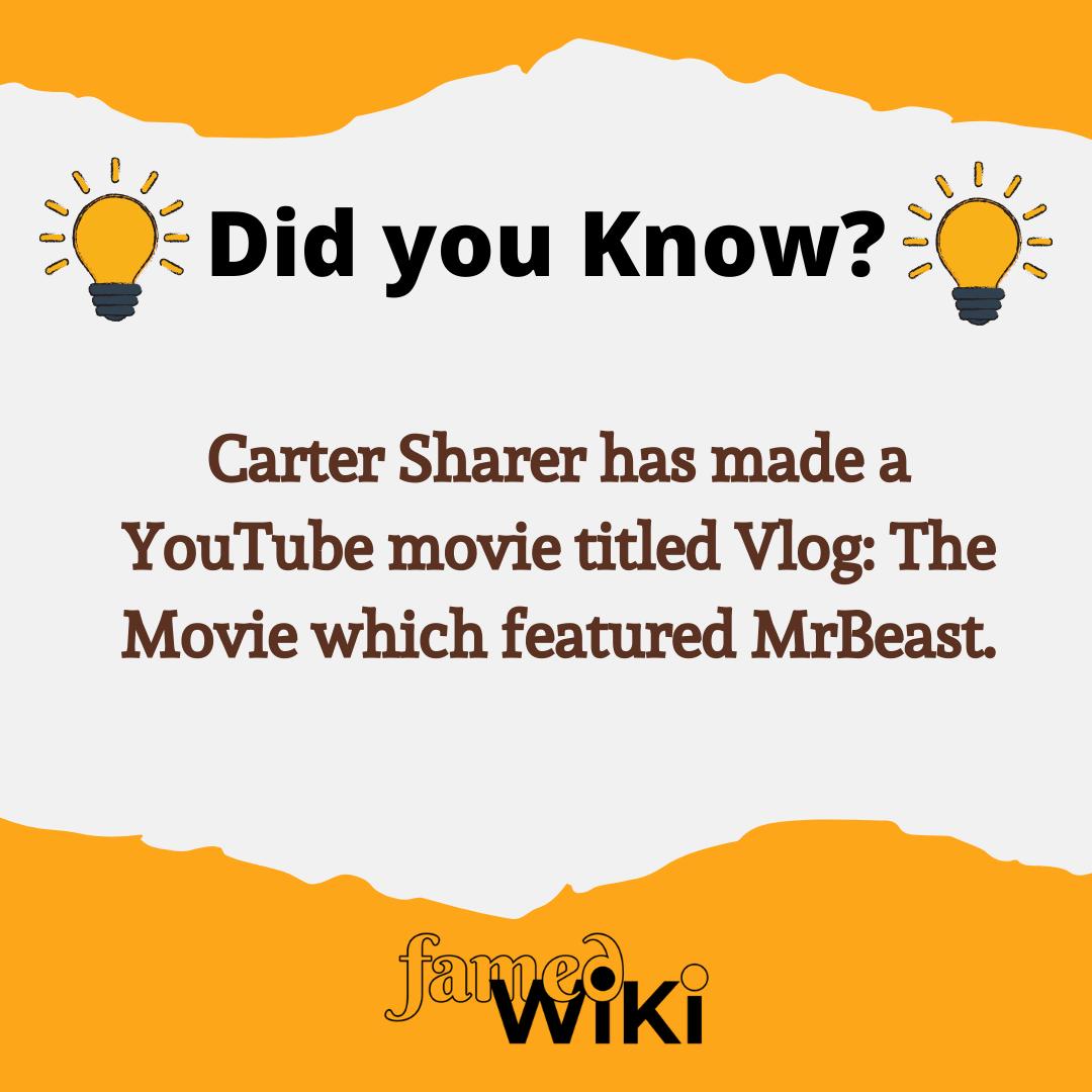 Carter Sharer Facts