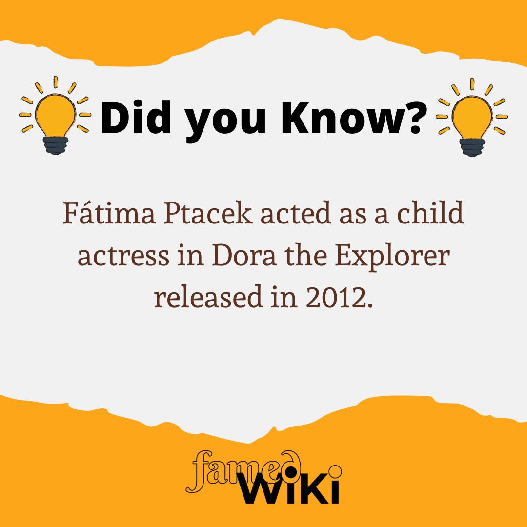 Fátima Ptacek Facts