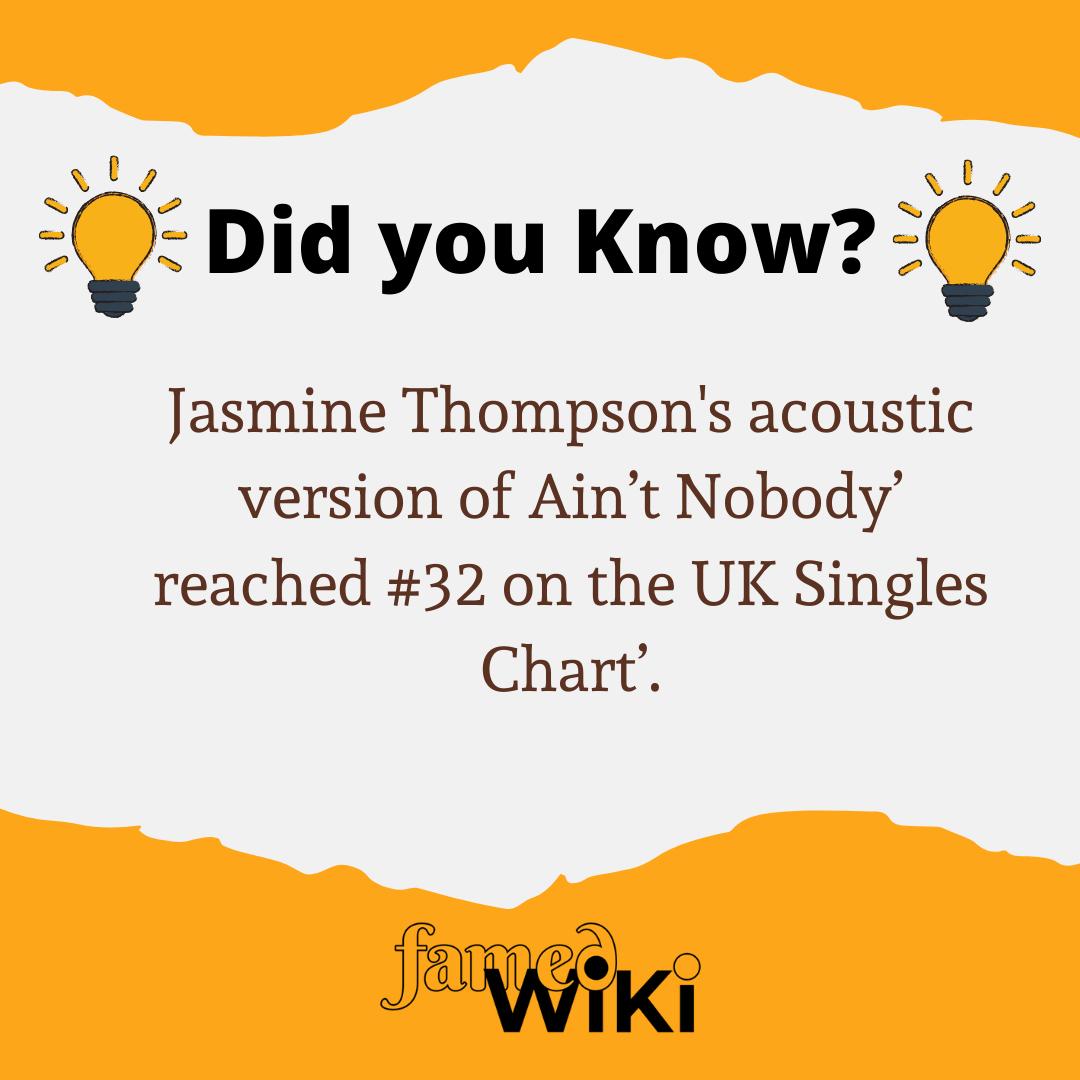Jasmine Thompson Facts