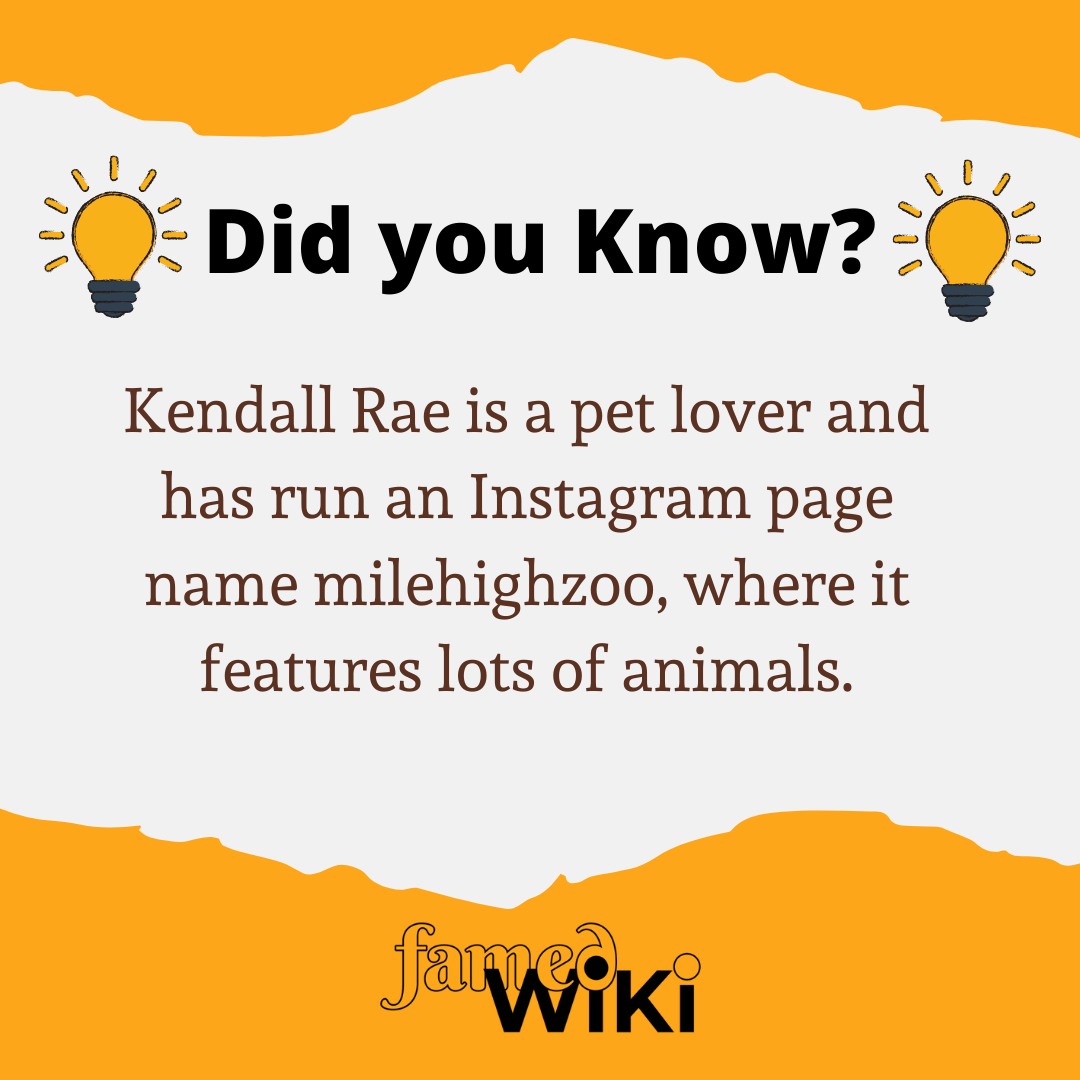 Kendall Rae Facts