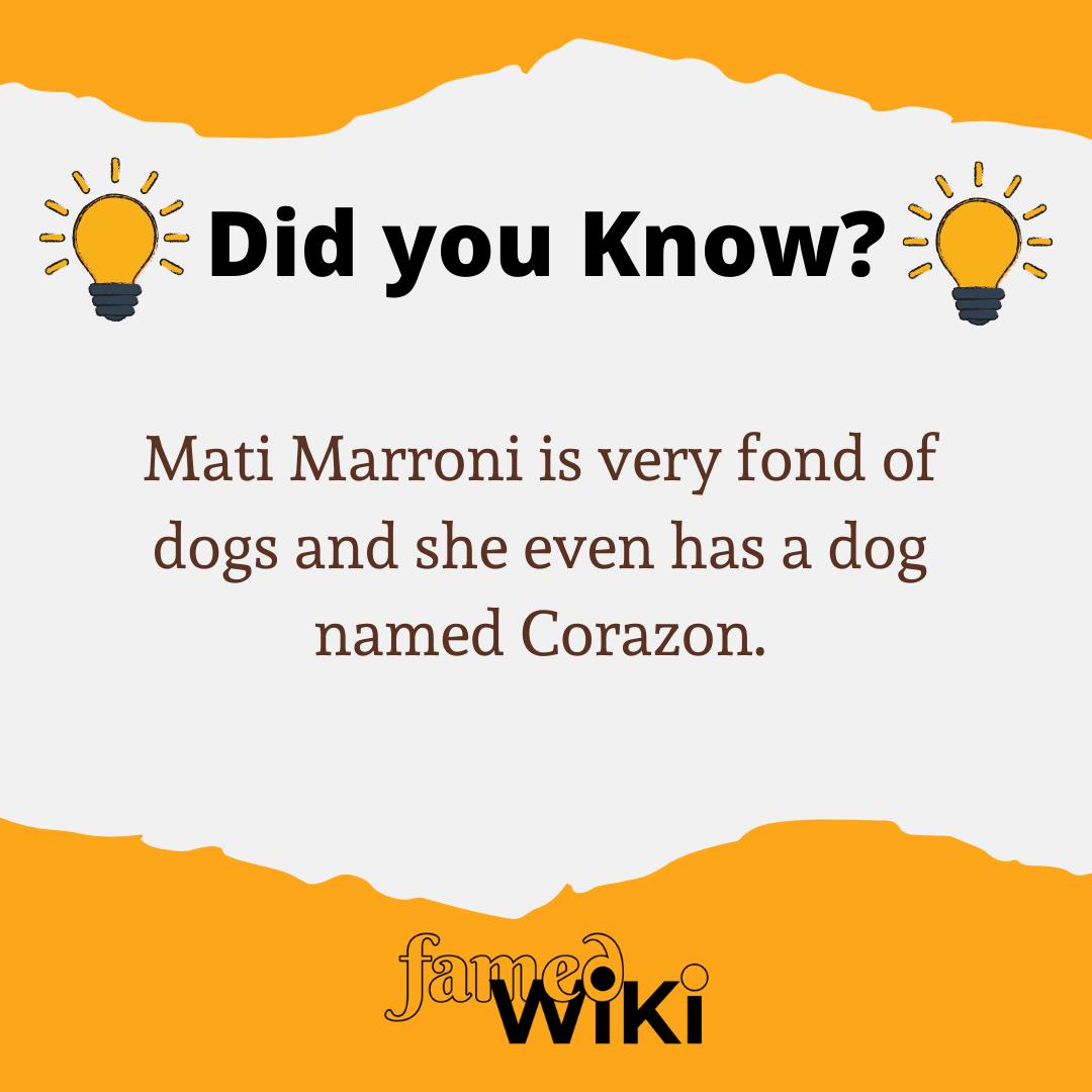 Mati Marroni Facts