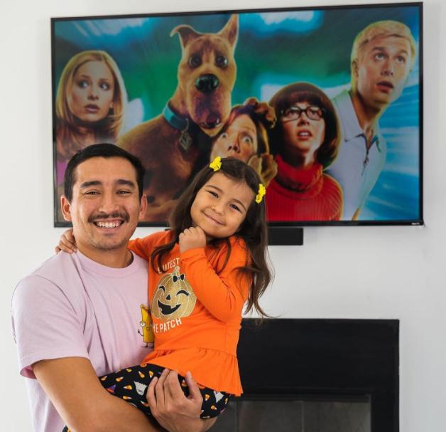 Nick Casas and daughter Sienna