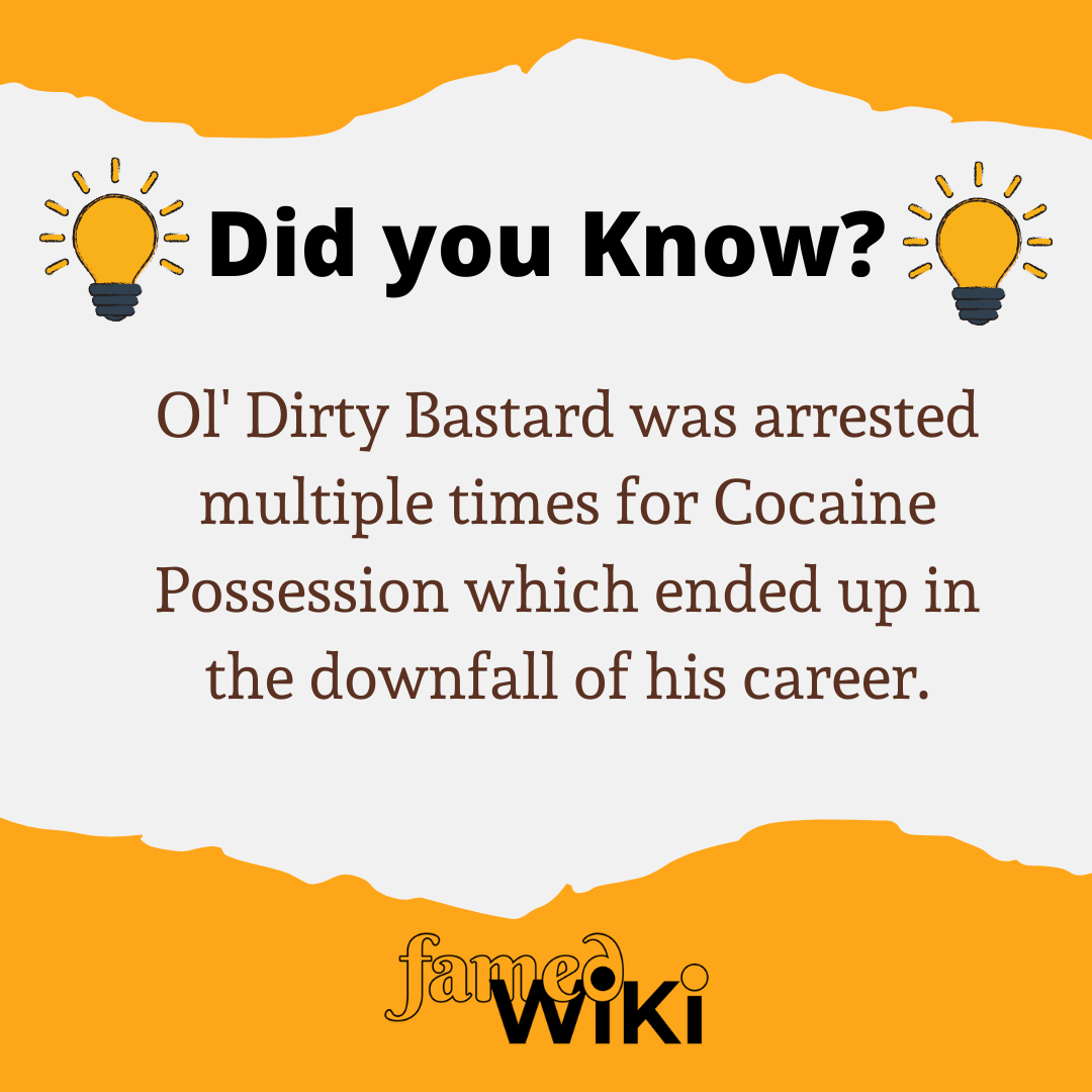 Ol' Dirty Bastard Facts