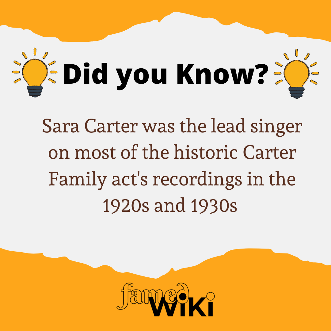 Sara Carter Facts