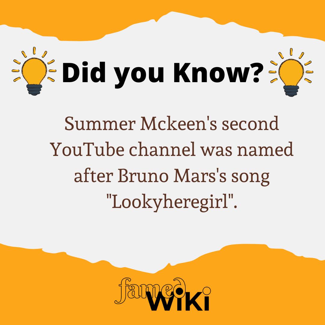 Summer Mckeen Facts