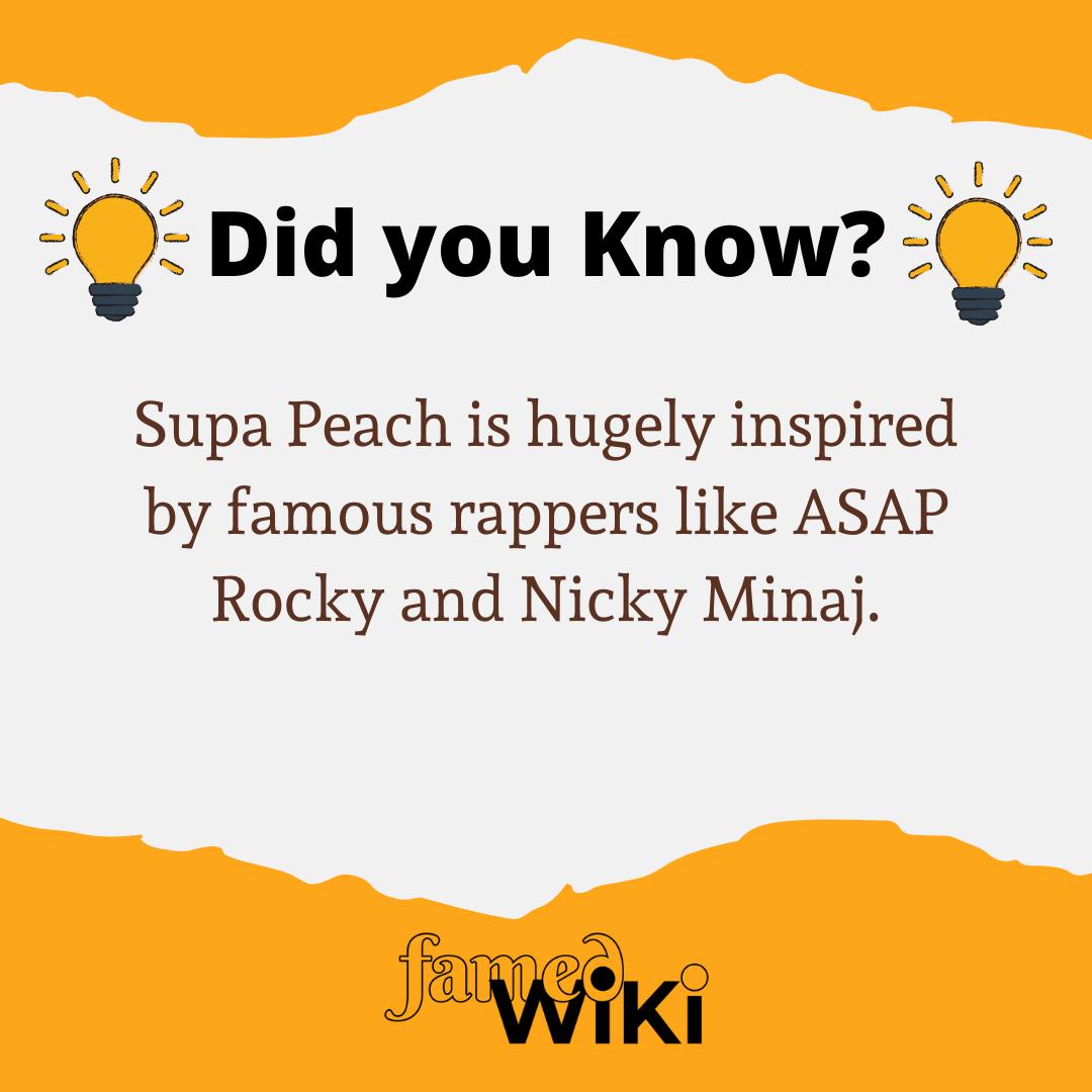 Supa Peach Facts