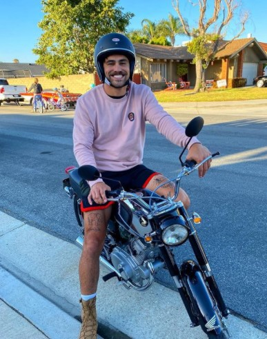 Toddy Smith riding