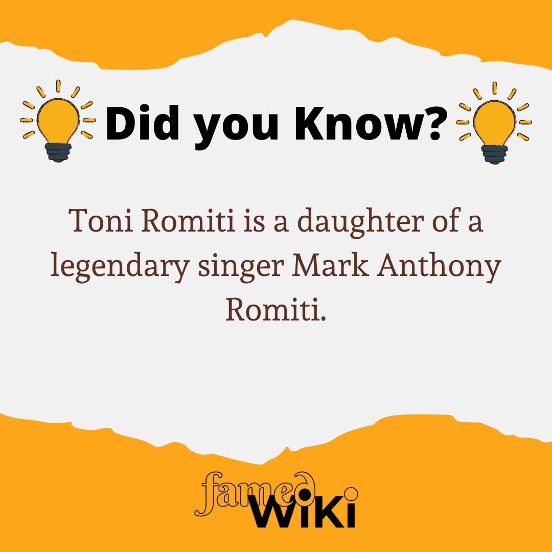 Toni Romiti Facts