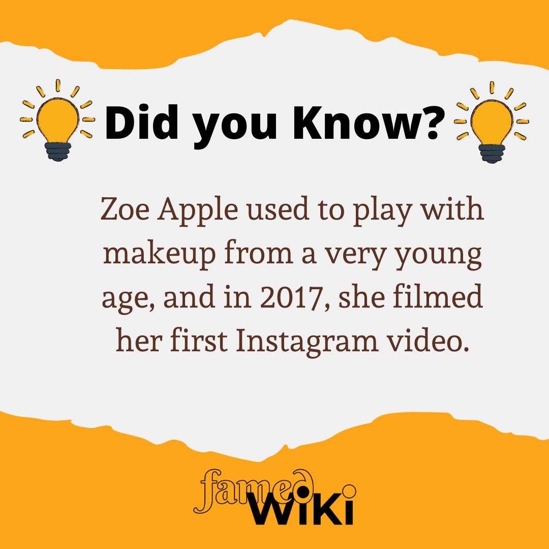 Zoe Apple Facts