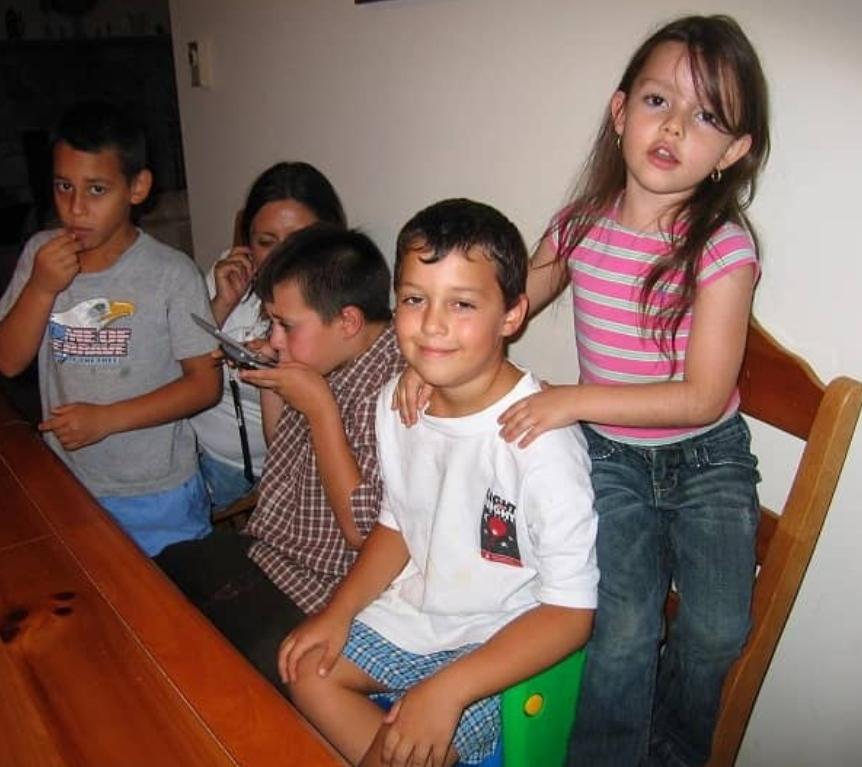 fatima ptacek with siblings
