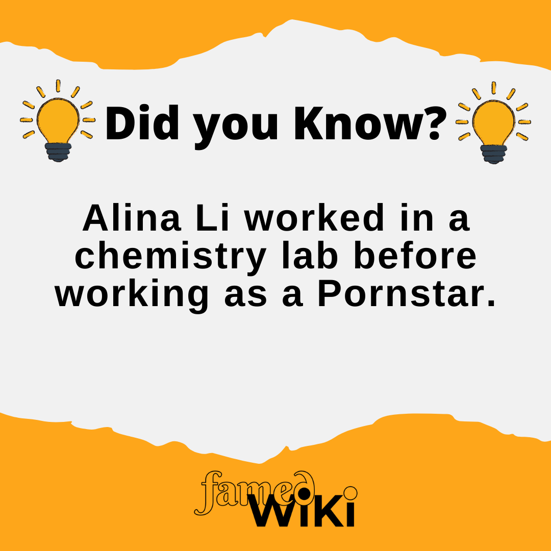 Alina Li Facts