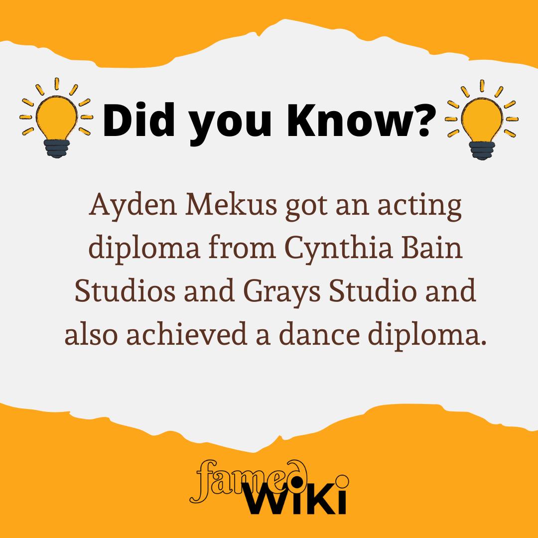 Ayden Mekus Facts