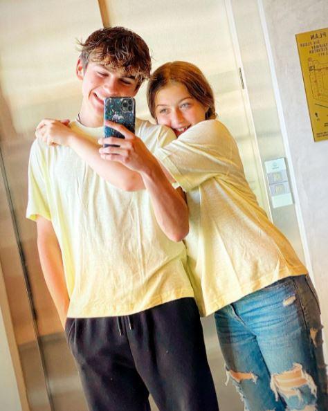 Ayden Mekus and Girlfriend
