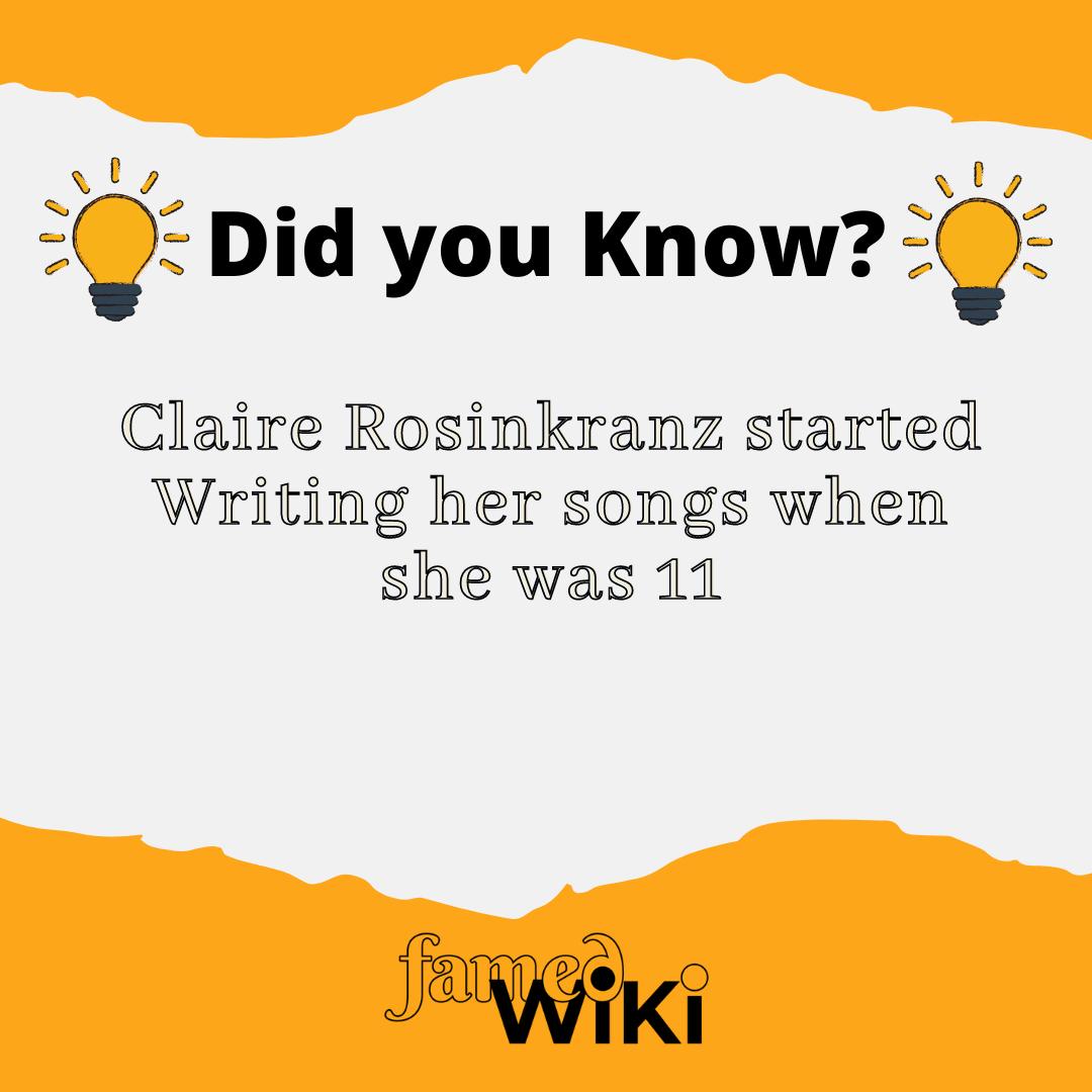 Claire Rosinkranz Facts