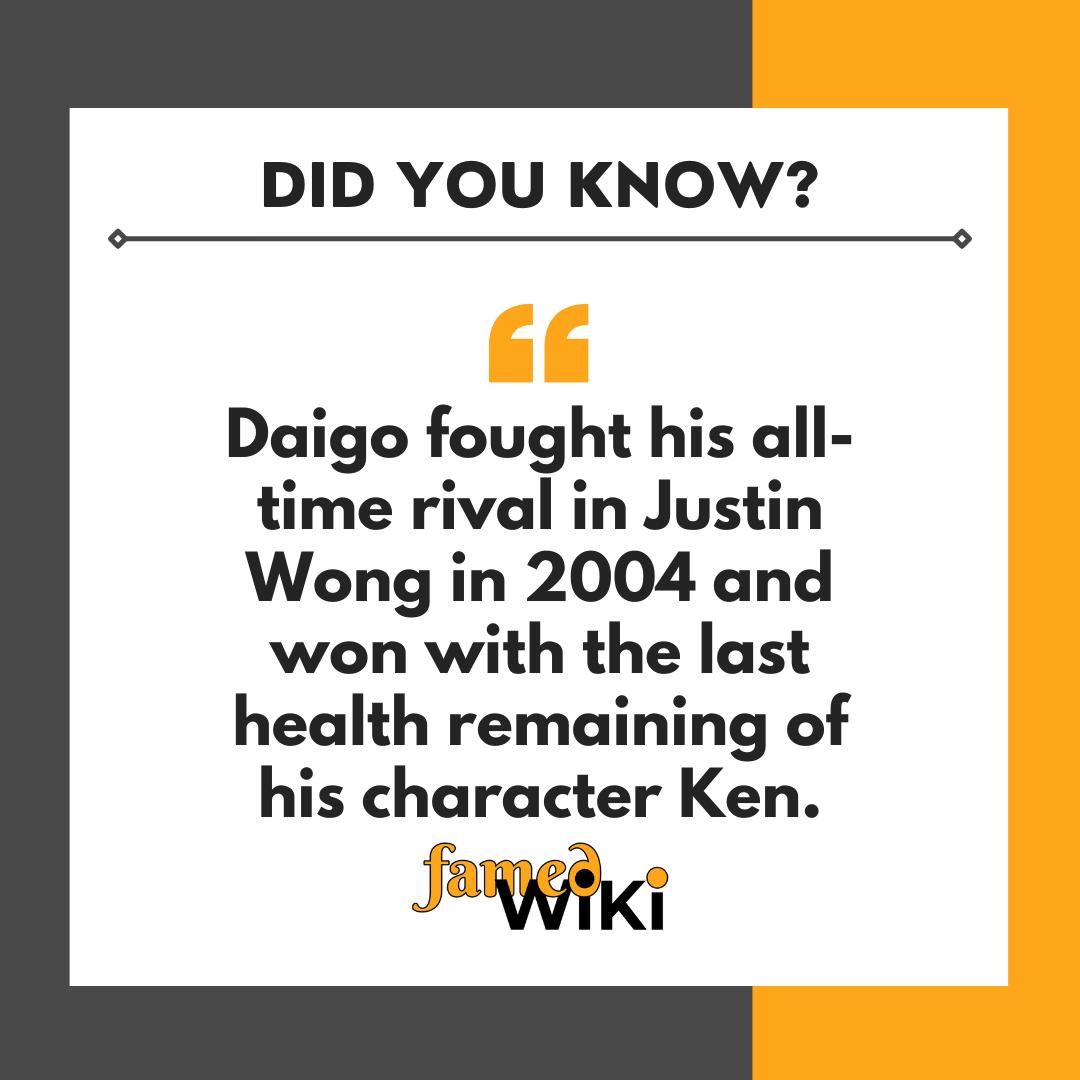 Daigo Umehara facts