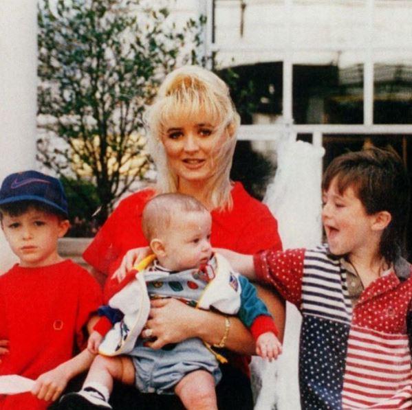 Darin Routier's previous family
