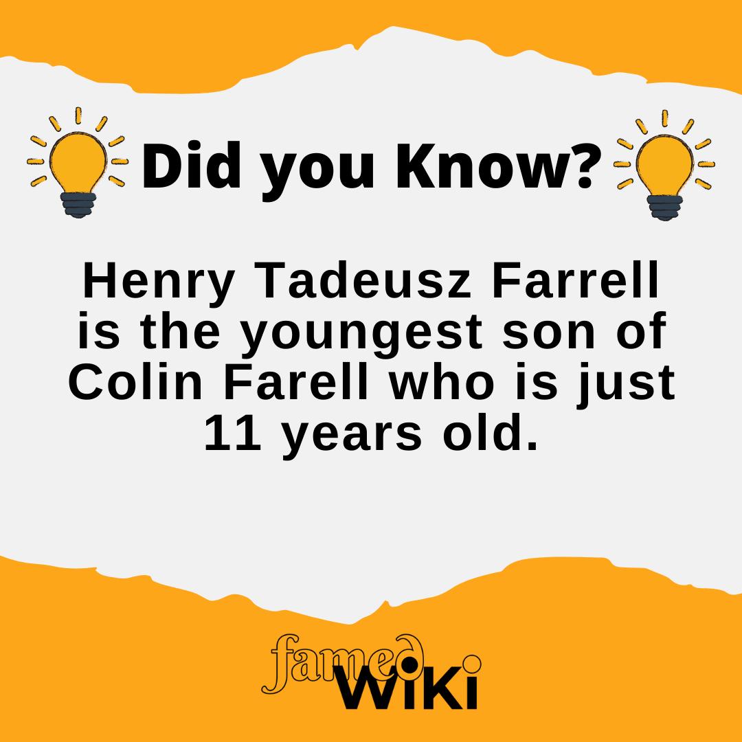Henry Tadeusz Farrell Facts