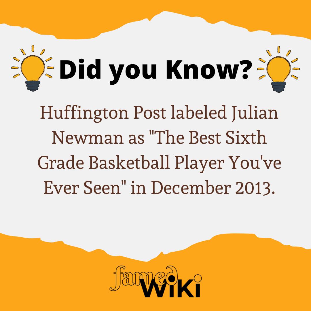 Julian Newman Facts