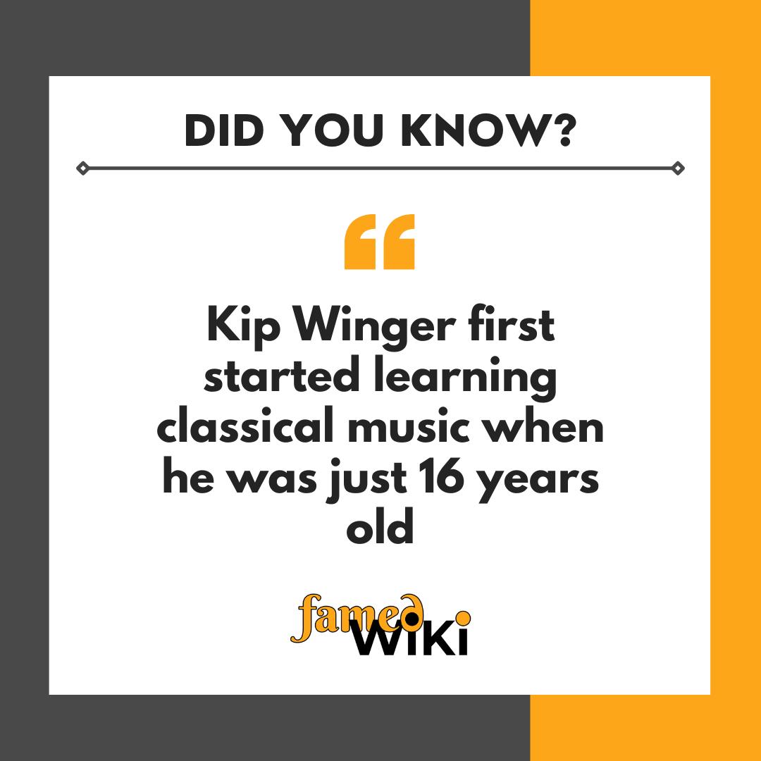 Kip Winger facts