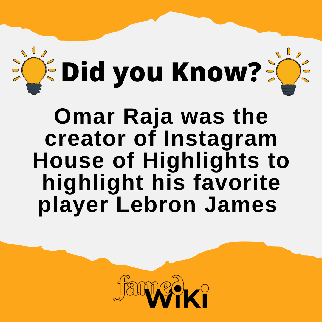 Omar Raja Facts