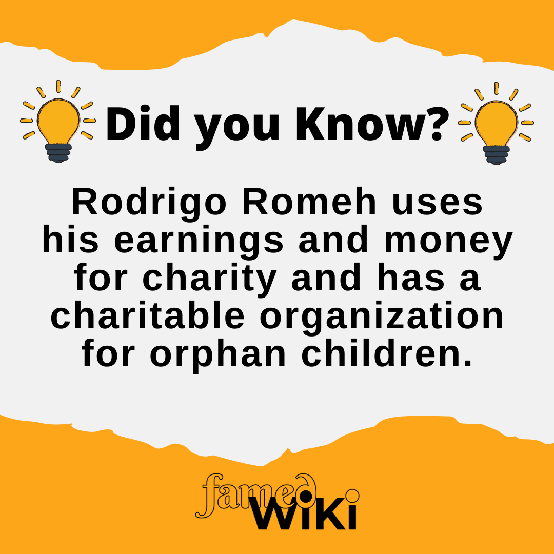 Rodrigo Romeh Facts