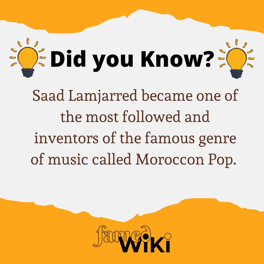 Saad Lamjarred Facts