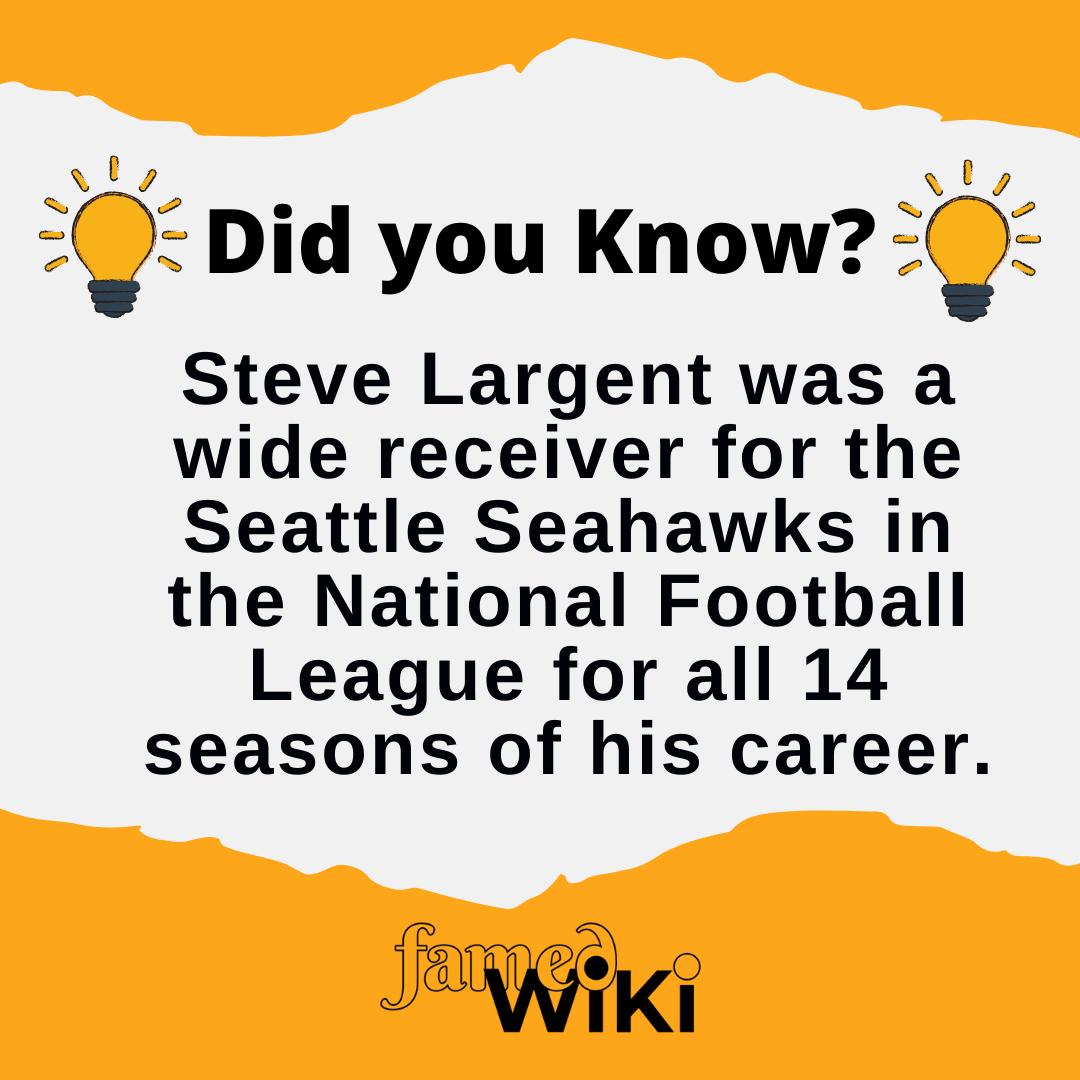 Steve Largent Facts