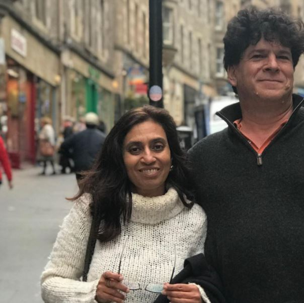 Eric Weinstein and Wife