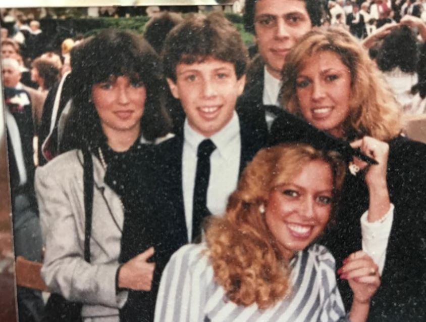 Madline Cuomo with Siblings