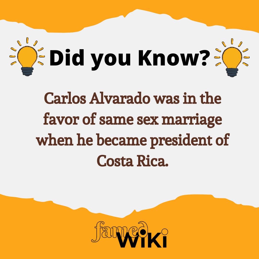 Carlos Alvarado Facts