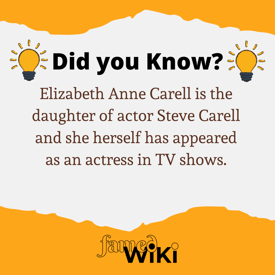 Elizabeth Anne Carell Facts