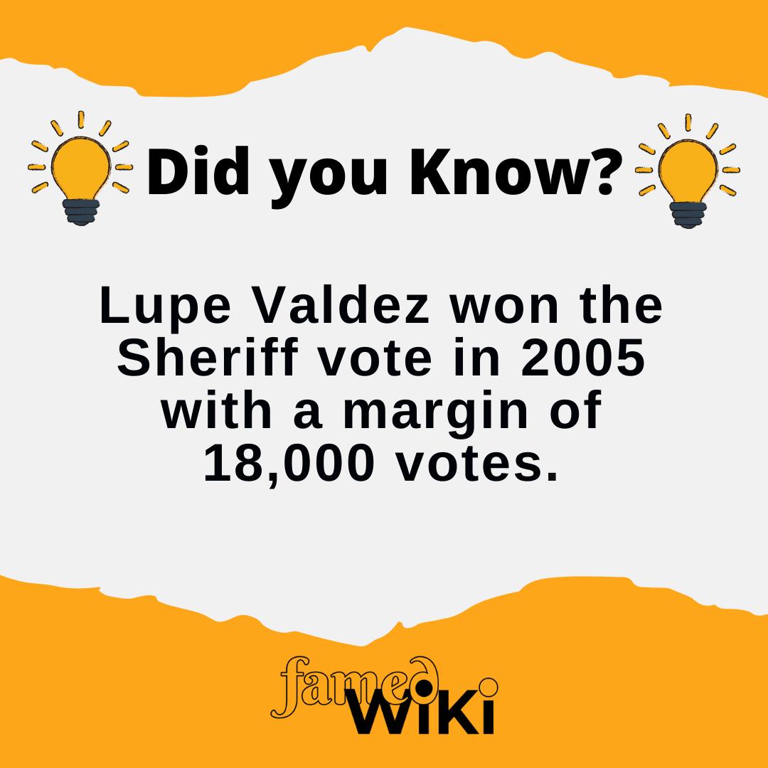 Lupe Valdez Facts