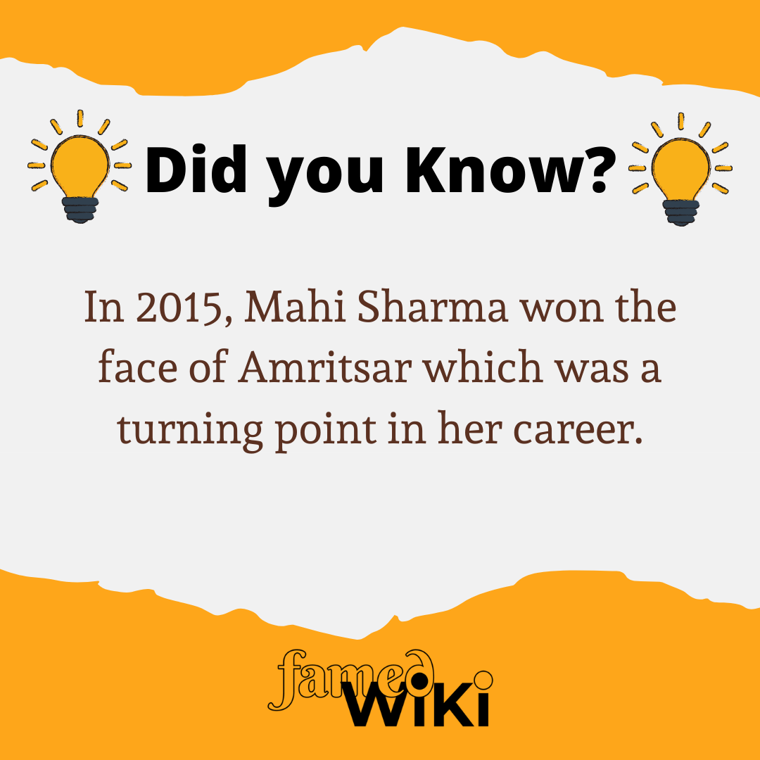 Mahi Sharma Facts