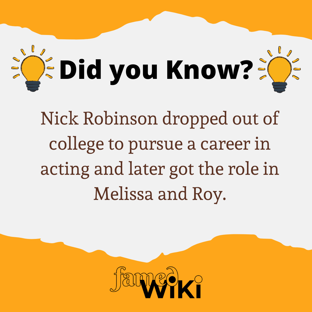 Nick Robinson Facts