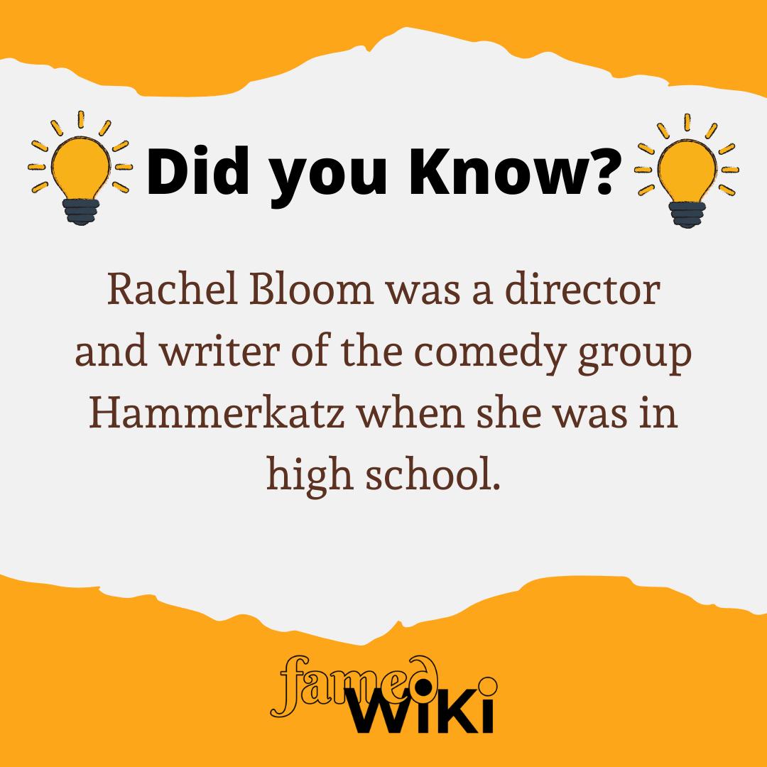 Rachel Bloom Facts