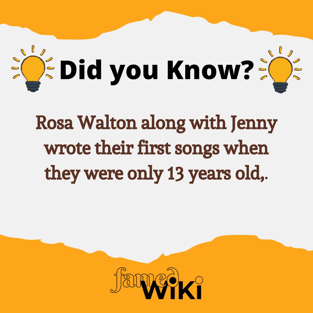 Rosa Walton Facts