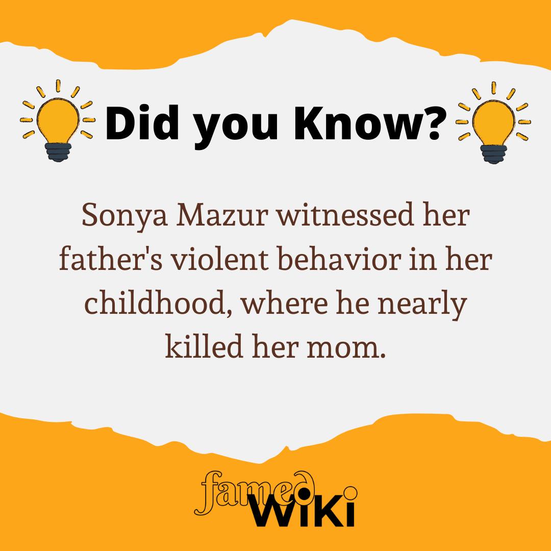 Sonya Mazur Facts