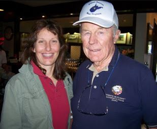 Vicotria and Chuck Yeager