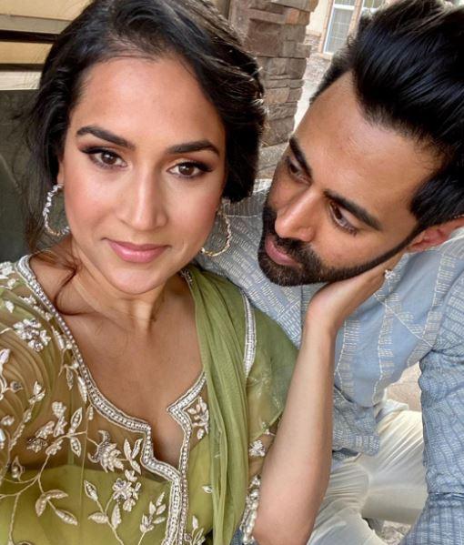 Hasan Minhaj and wife Bina