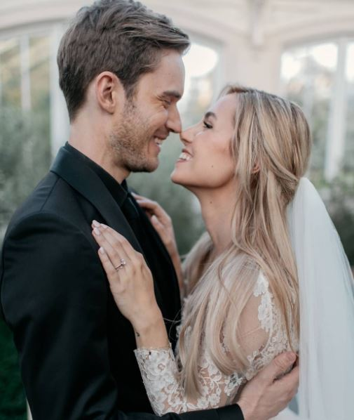 PewDiePie and Wife