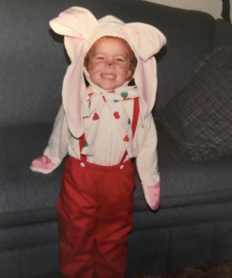 michelle wolf as a kid
