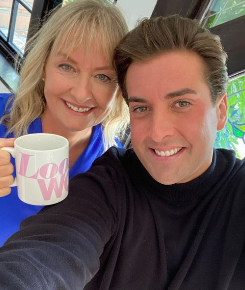 James Argent with Mother