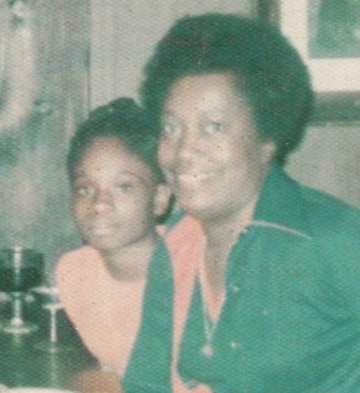 adrina porter with her mom
