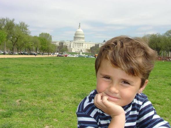 david hogg as a little kid