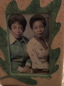 juanita jennings with her mother